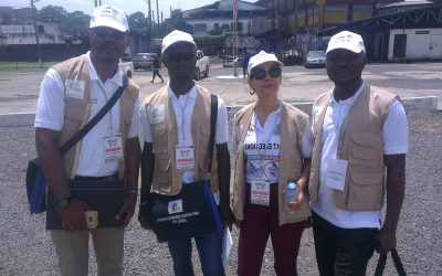 The AMD Deployed 7 International observers at the Liberia 2017 General Elections